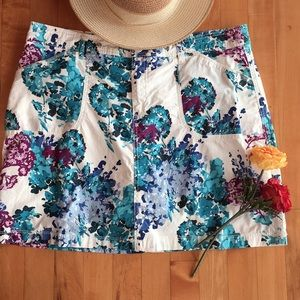 White Stag Cotton Skirt, with attached shorts.